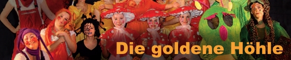"""Banner Tanzmärchen """"Die goldenen Höhle"""" 2012"""