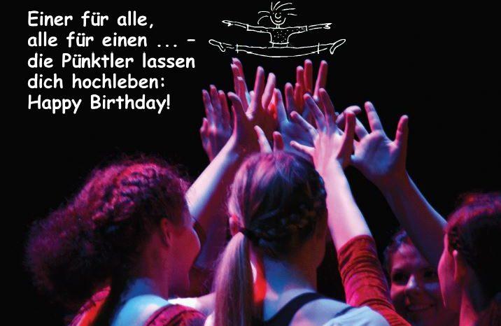 Geburtstagskarte für Pünktler 2019