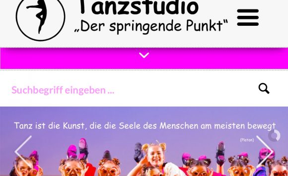Neues Design Homepage in finaler Phase!