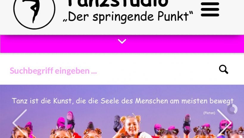 Neues Design Homepage in finaler Phase!