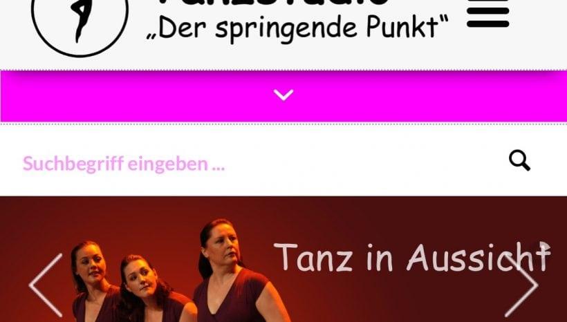 Dein Tanz-Zuhause hat online ein ganz neues Design!