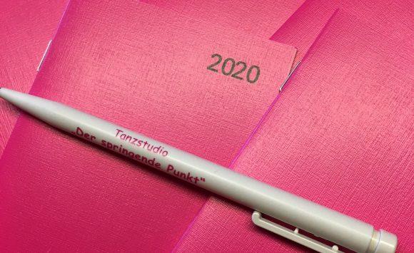 Pink Kalender zum Mitnehmen ab Oktober 2019