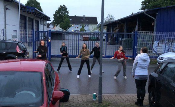02.05.2019 Tanzen auf der Straße als Generalprobe