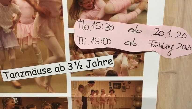 Neues Tanzmäuse-Plakat 2020