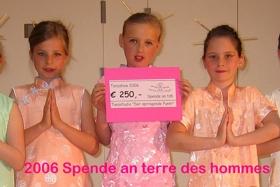 Spendenaktion 2006