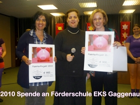 Spendenaktion 2010