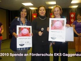 Spendenaktion 2010