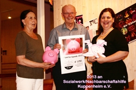 Spendenaktion 2013