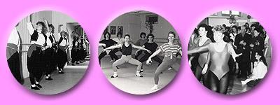 Eröffnung des Tanzstudios mit Schauvorführungen