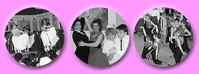 Schwingende Röcke, ein zauberhaftes Tanzpärchen und flotte Bewegungen bei der Revue 1989