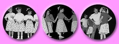 Die legendären Erdbeerröcke tanzen zum ersten Mal auf einer Bühne
