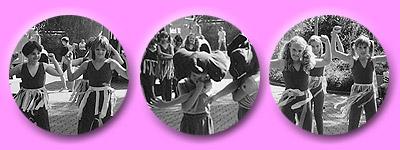 Springende Pünktler tanzen für den guten Zweck am Kindersfest