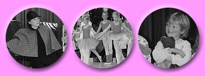 Kleine Ballerinas zeigen ihr Können im Spitzenrock und die allerkleinsten dürfen ihr Kuscheltier mit auf die Bühne nehmen