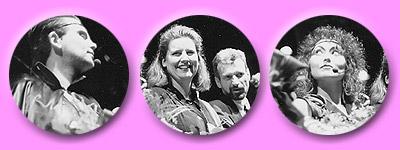 Portraitaufnamhen der Sänger und Susanne