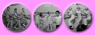 Tänzerischer Rückblick in längst vergangene Zeiten