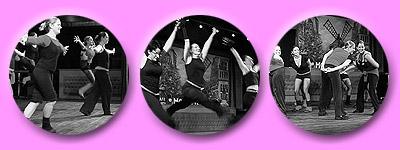 springende Tänzer