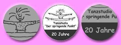 Springe-Inge und die die Aufschrift Tanzstudio