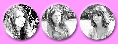 Porträts einzelner Picknickerinnen