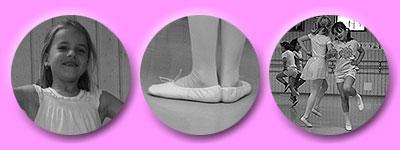 zahnloses Erstklässler-Lächeln, erste Beinposition, hüpfende Mädchen