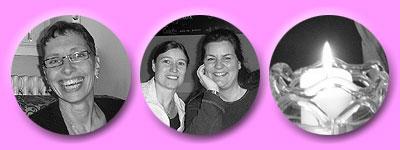 Susanne B., Esther und Susanne, Kerzlein