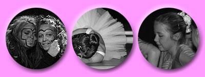 Affenbande, schlafende Ballerina, kleine Tänzerin