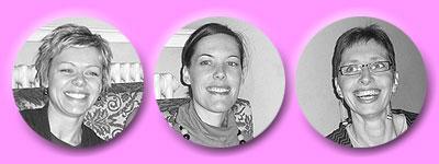 3 entspannte Lehrerinnen