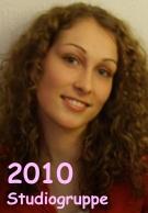 eine der Preisträgerinnen des TeamAward 2010 in der Studiogruppe