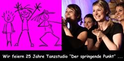 Springende Pünktler feiern 25 Jahre Tanzstudio