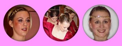 Irisch III- und SingSingSing-Tänzerinnen