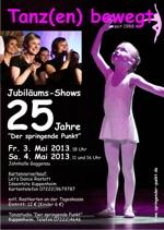 Tanz(en) bewegt... Plakat zu den Tanzshows 2013