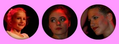 konzentrierte Gesichter beim Auftritt