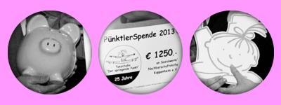 Pünktlerspende in Höhe von 1250,- € an Sozialnetzwerk und Nachbarschaftshilfe Kuppenheim