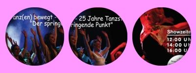 Showzeiten für Tanzblöcke bei Kuppenheimer Leistungsschau