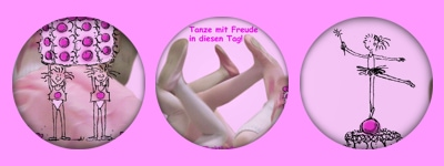 Tanze mit Freude in diesen Tag! Geburtstagskarte 2013 für Pünktler