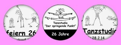Tanzstudio feiert Geburtstag-Spaghate gratuliert