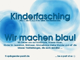 Flyer Kinderfasching