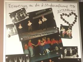 Erinnerung zweite Studiovorführung 1990