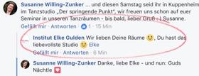 Kommentare Elke Gulden