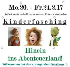 Flyer Kinderfsching 2017, Abenteuerland
