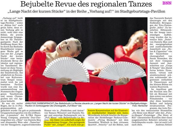 Revue des regionalen Tanzes, konzentrierte Interpretation musikalischer Impulse, DSP zu Gast im Stadtgeburtstags-Pavillon