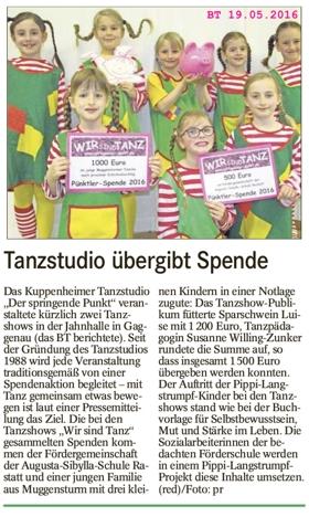 Sparschwein Luise geschlachtet, Pippi Langstrumpf-Projekt der Förderschule unterstützt, 1200 € Spendensumme